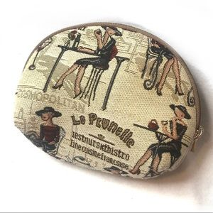 Chocolatier Confiseur Bistro Tapestry Coin Purse